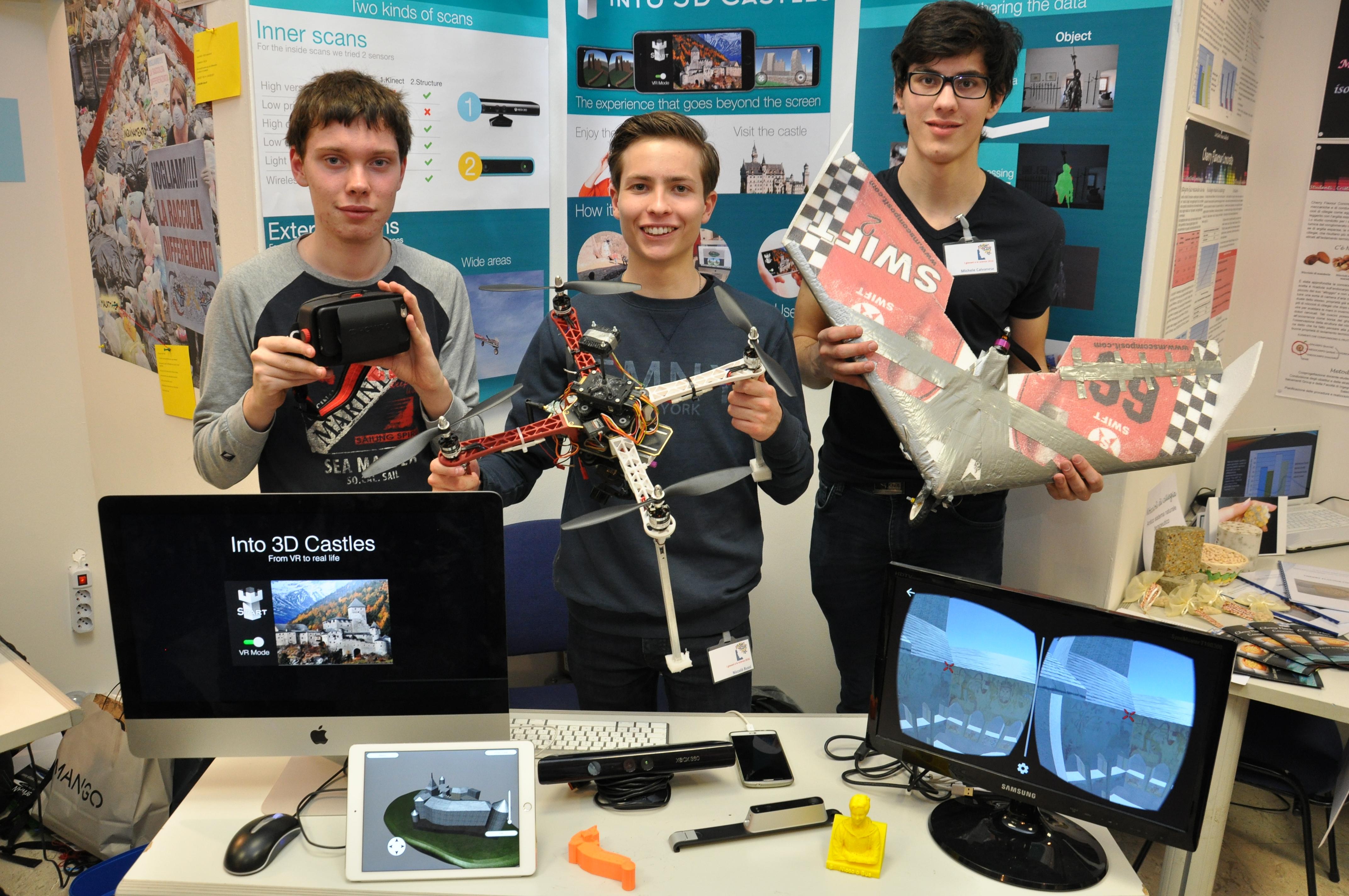 """Torna """"I giovani e le scienze"""", concorso europeo per giovanissimi innovatori"""